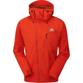 Mountain Equipment Squall Veste à capuche Homme, cardinal orange